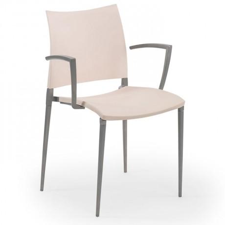 İç Mekan Alüminyum İskeletli Plastik Enjeksiyon Sandalye - tps9918