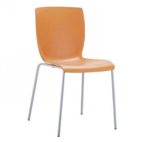 Plastic Avm Dining Hall Chair - pls34