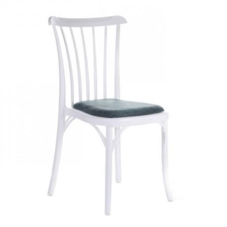 Plastic White Thonet Chair - pls36