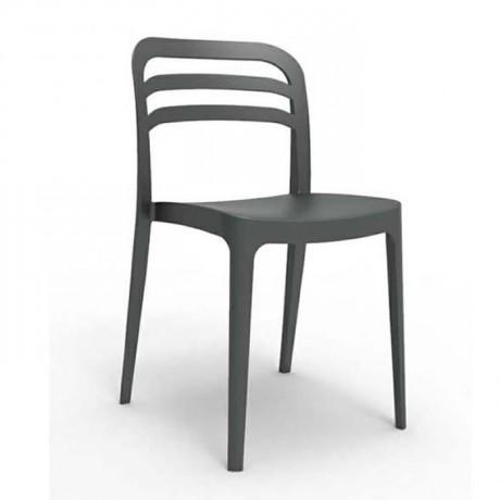 Plastik Cafe Kolsuz Sandalye