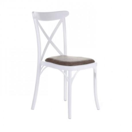 Plastic Cross Thonet Chair - pls35