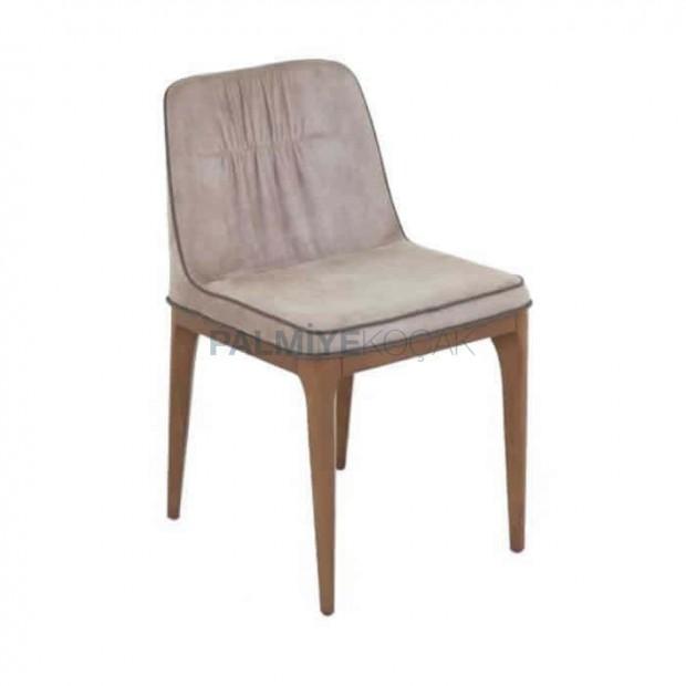 Poliüretan Bej Cafe Sandalyesi