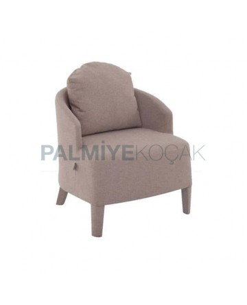 Polyurethane Cafe Bergere with Gray Fabric
