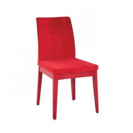 Polyurethane Red Painted Chair - psa631