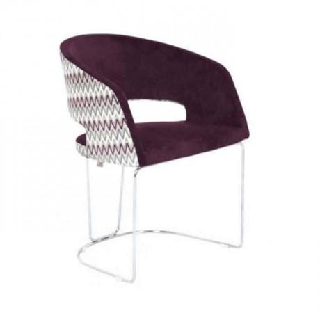 Poliüretan Kollu Sandalye Çubuk Demir Ayaklı - psd279