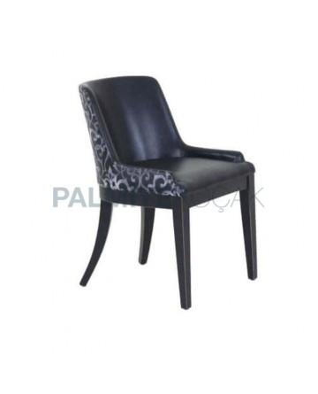 Polyurethane Chair Black Leather