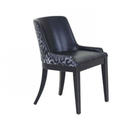 Polyurethane Chair Black Leather - psa610