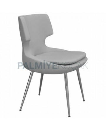 Gray Modern Chair Armchair