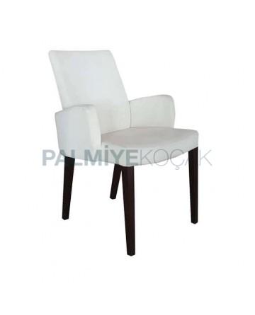Cream Colour Polyurethane Arm Chair