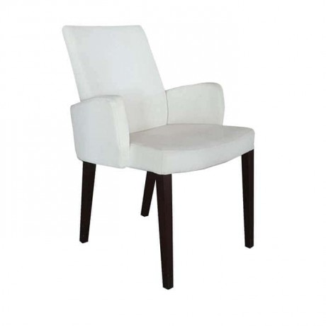 Cream Colour Polyurethane Arm Chair