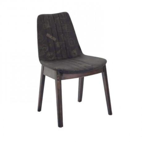 Polyurethane Black Fabric Upholstered Chair - psa622