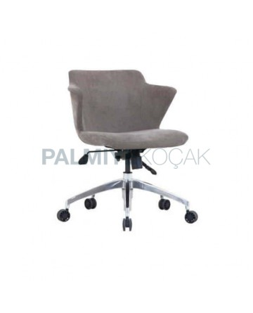 Polyurethane Wheeled Arm Chair