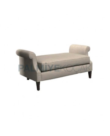 Gray Fabric Upholstered Couch