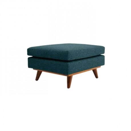 Fabric Square Ottoman - p111