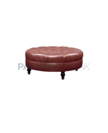 Round Cafe Ottoman