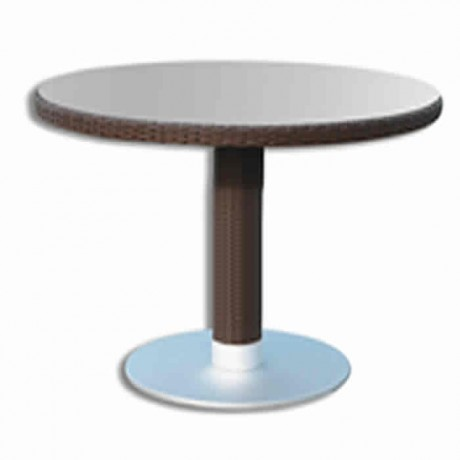 Round Table Top Table with Stainless Leg - rtbm6526