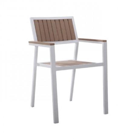Alüminyum Kollu Cafe Bahçesi Sandalyesi - rtm083