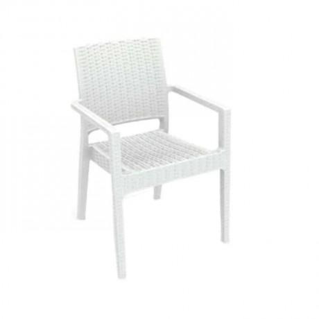 White Rattan Winter Garden Chair - tps9906