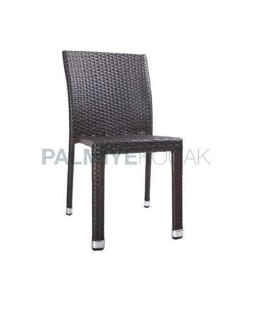 Brown Rattan Garden Chair