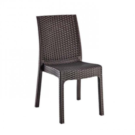 Brown Rattan Injection Outdoor Chair - tpi9899