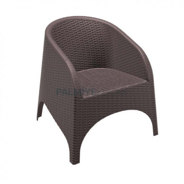 Brown Rattan Injection Winter Garden Chair