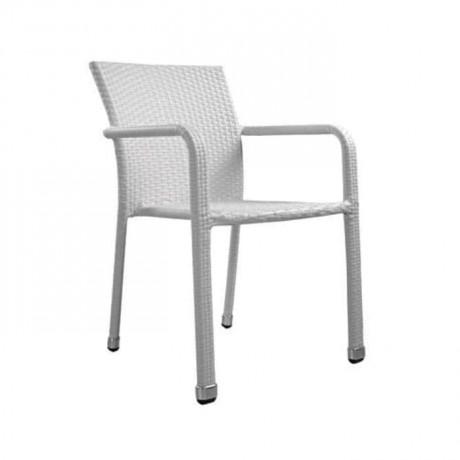 Rattan Beyaz Sandalye - rtb502