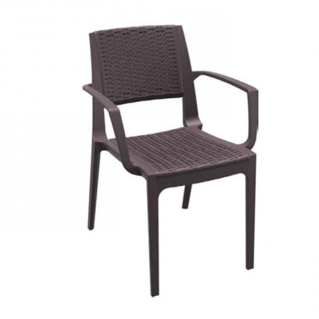 Outdoor Rattan Injection Garden Arm Chair - tps9904