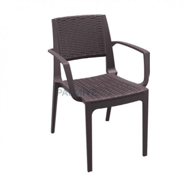 Outdoor Rattan Injection Garden Arm Chair