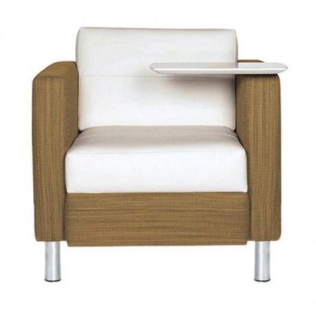 Metal Leg Companion Chair with Coffee Table - hkv6853
