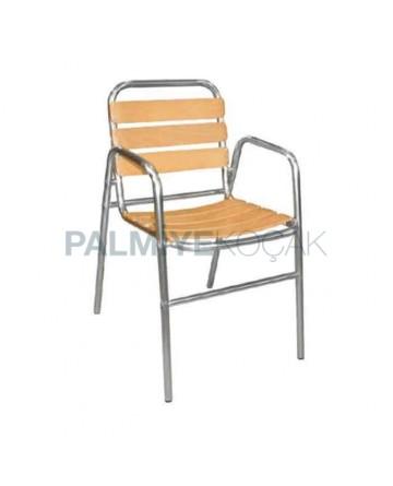 Restaurant Garden Aluminum Chair