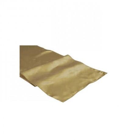 Beige Satin Fabric Runner