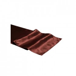 Organization Table Runner with Brown Fabric