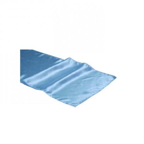 Blue Fabric Banquet Table Runner - ran3052