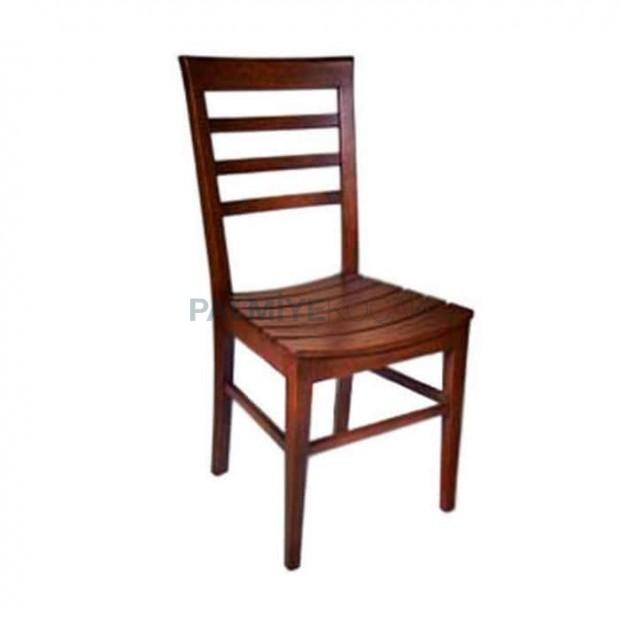 Ahşap Çıtalı Eskitme Sandalye