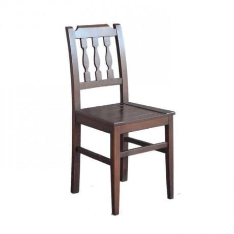 Ahşap Dikey 3 Çıtalı Sandalye - rsa07
