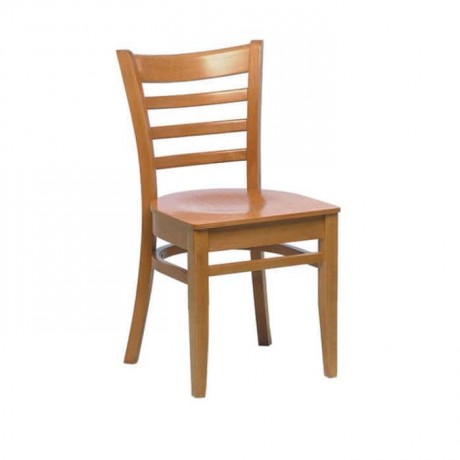 Ahşap Natürel Restoran Sandalyesi - rsa64
