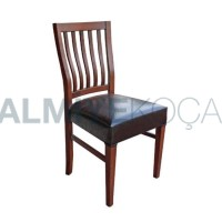 Wooden Rustic Restaurant Chair