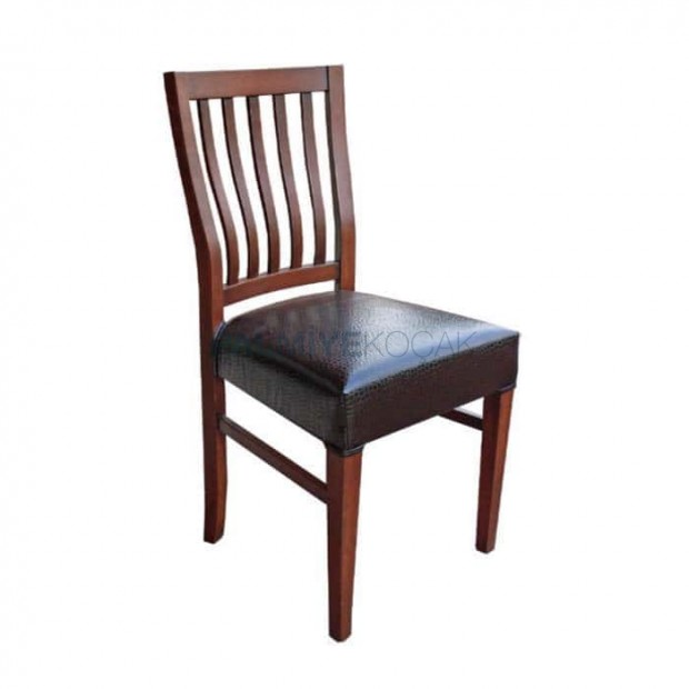 Ahşap Rustik Restoran Sandalyesi