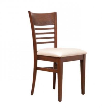 Ceviz Boyalı Ahşap Sandalye - rsa86