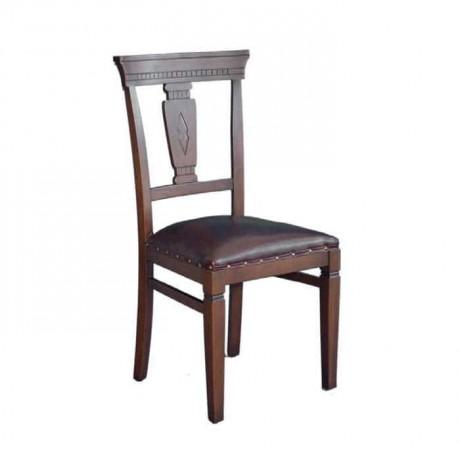 Cilalı Gürgen Ahşaplı Rustik Restorant Sandalyesi - rsa59