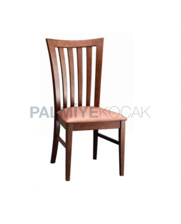 Vertical Stick Wood Rustic Chair