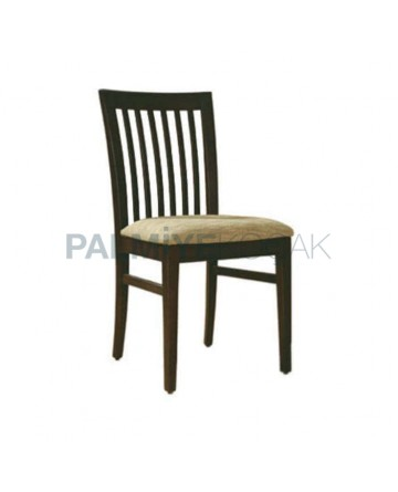 Vertical Stick Wooden Rustic Chair