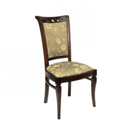 Eskitme Desenli Kumaşlı Salon Sandalyesi - rsa20
