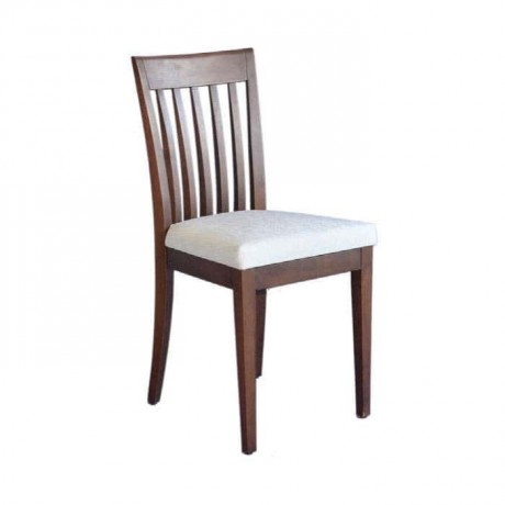 Eskitme Dik Çıtalı Ahşap Sandalye - rsa04