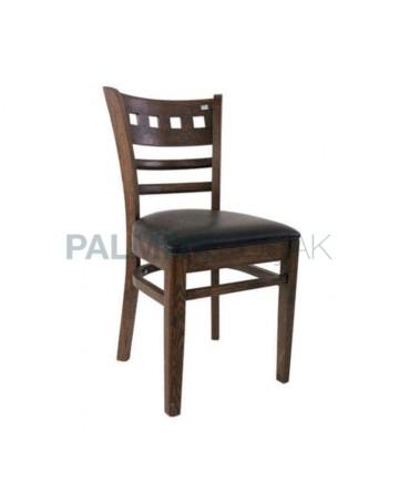 Gürgen Ağacından İmal Restaurant Sandalyesi