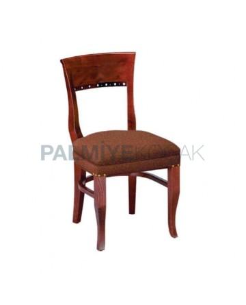 Red Antique Wooden Restaurant Chair