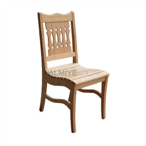 Meşe Ahşap Restoran Otel Sandalyesi