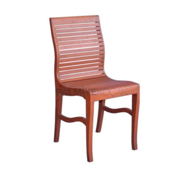 Yatay Çıtalı Açık Boya Renkli Sandalye