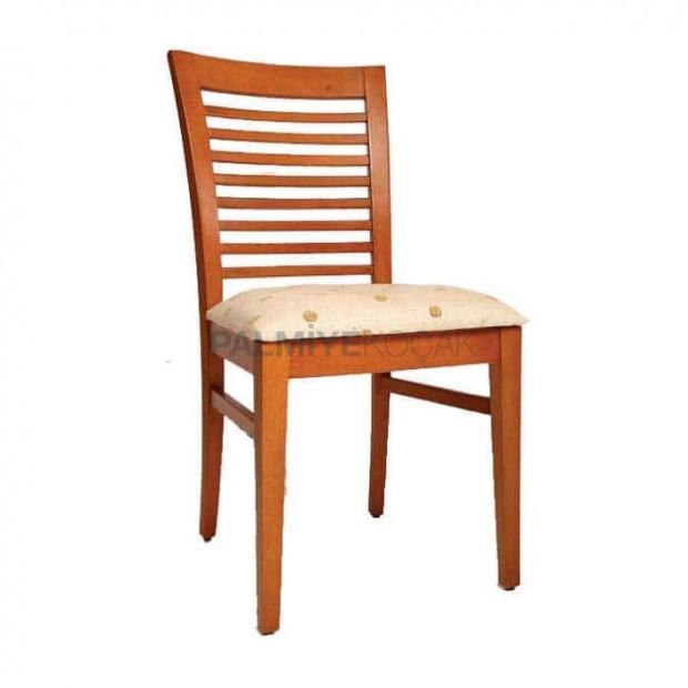 Yatay Çıtalı Açık Eskitme Boyalı Sandalye