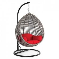 Bird's Nest Rattan Swing